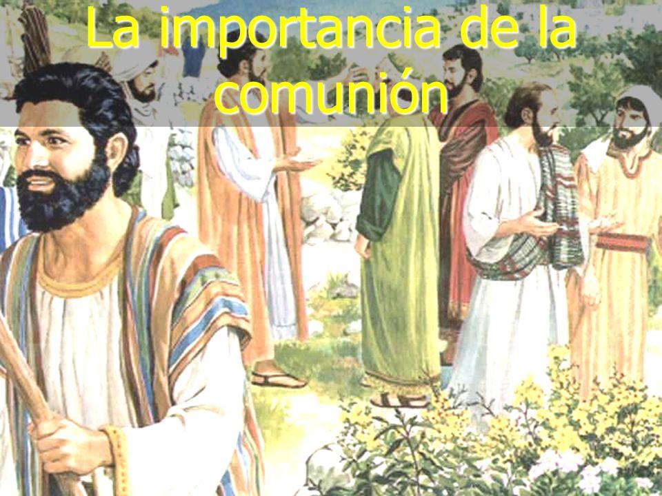 La importancia de la comunión