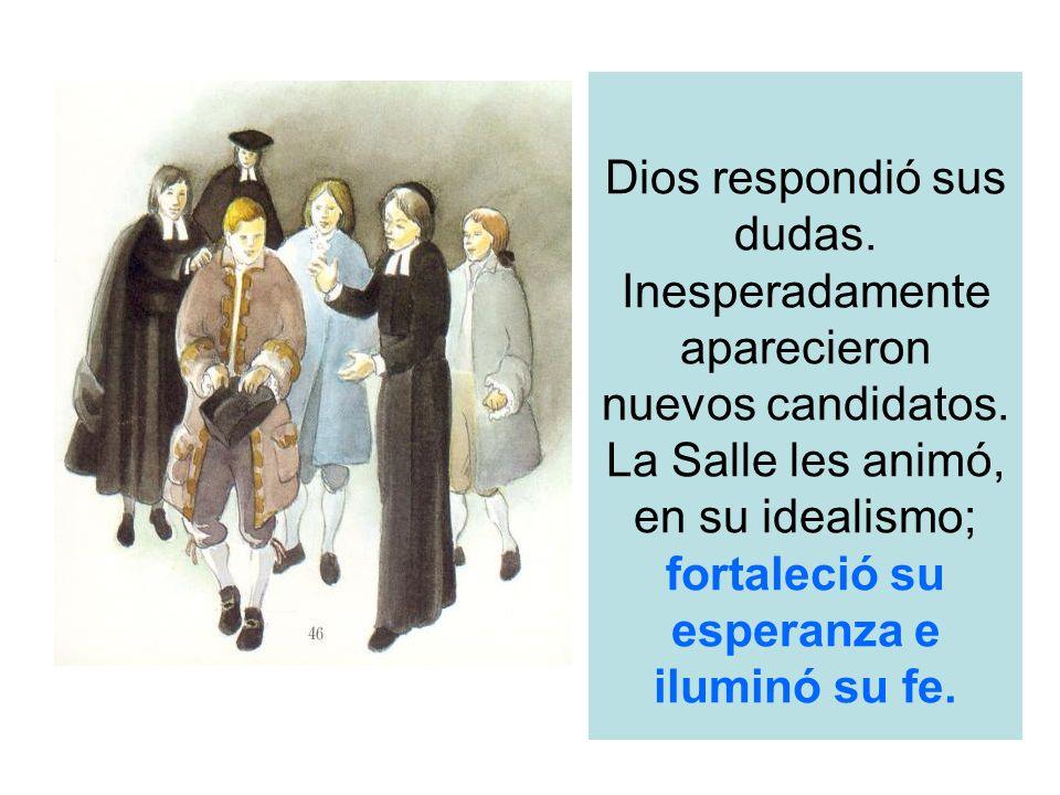 Dios respondió sus dudas. Inesperadamente aparecieron nuevos candidatos.