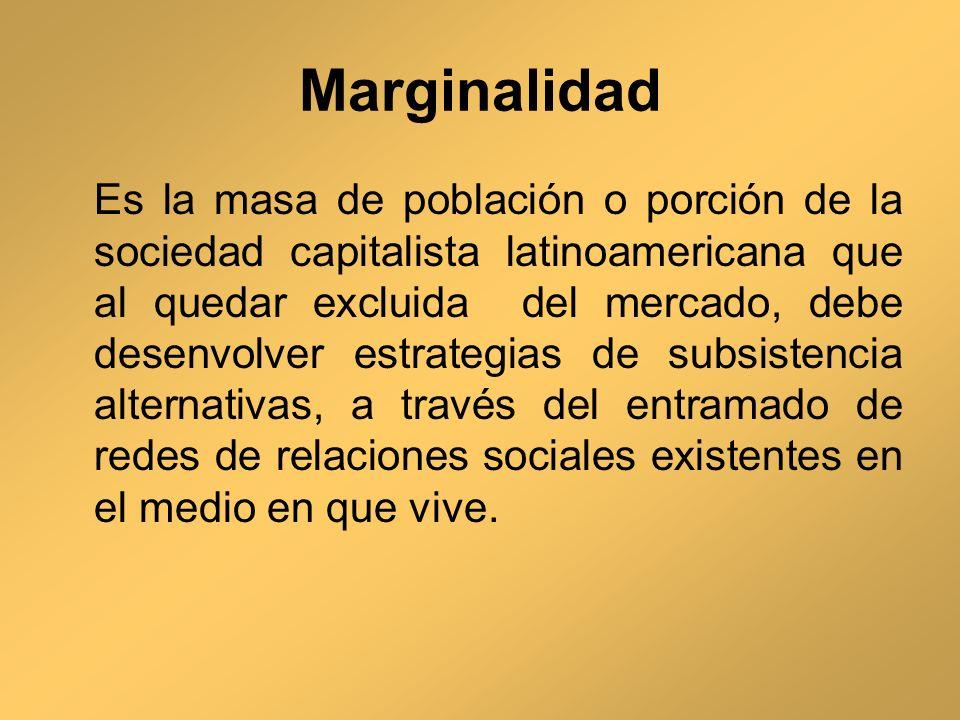 Marginalidad
