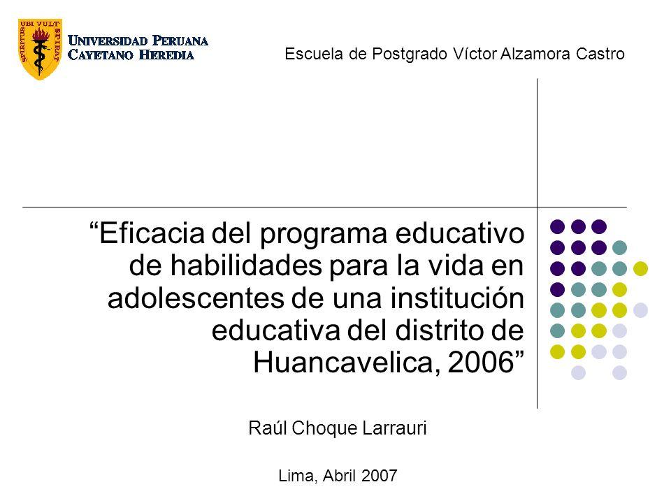 Escuela de Postgrado Víctor Alzamora Castro