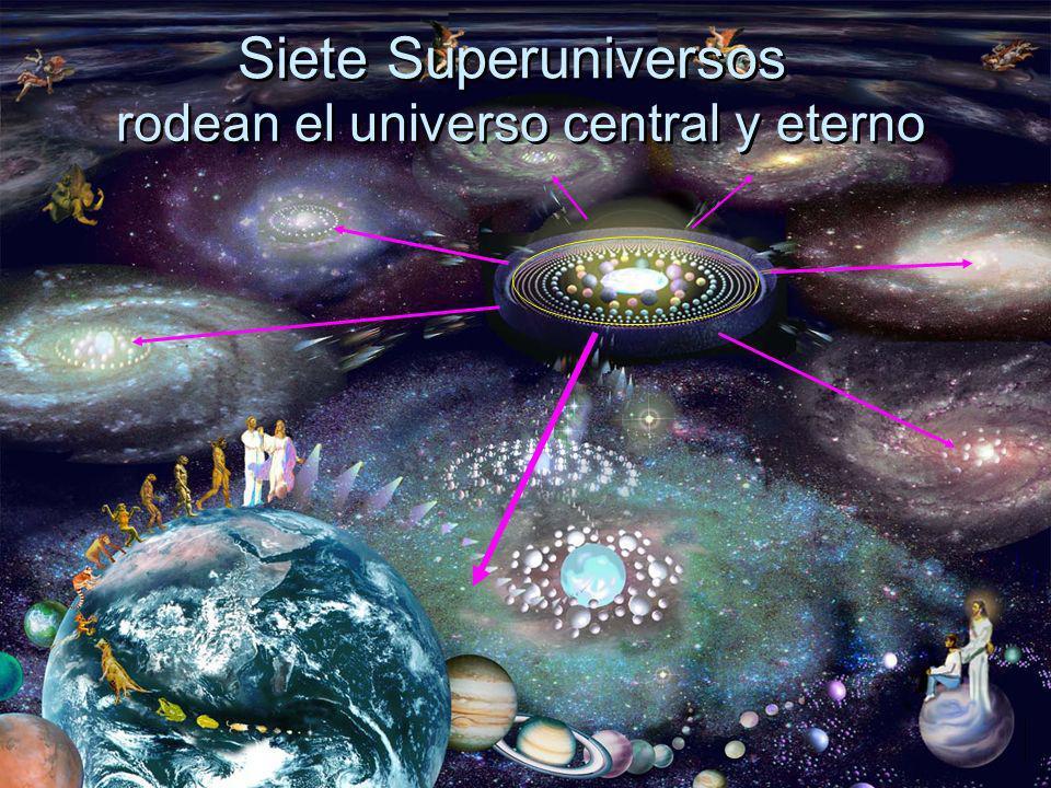 rodean el universo central y eterno