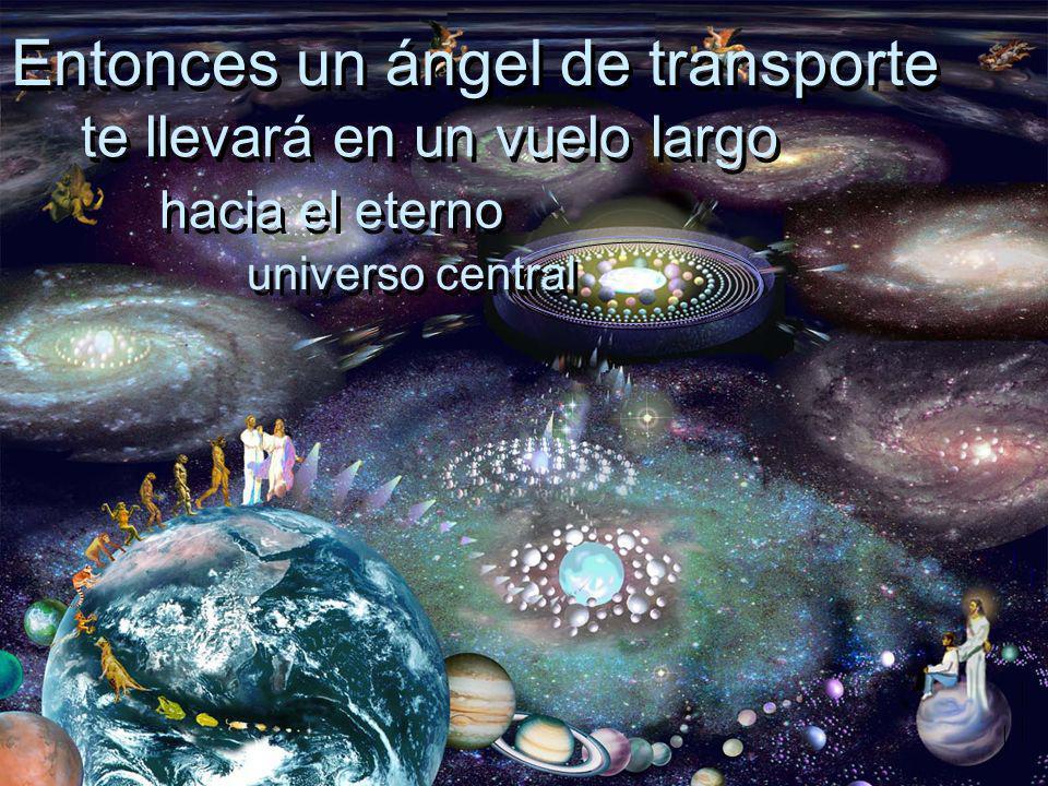 Entonces un ángel de transporte