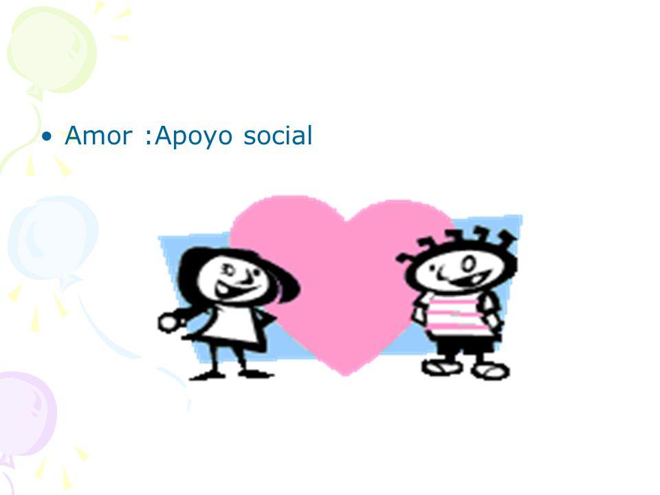 Amor :Apoyo social