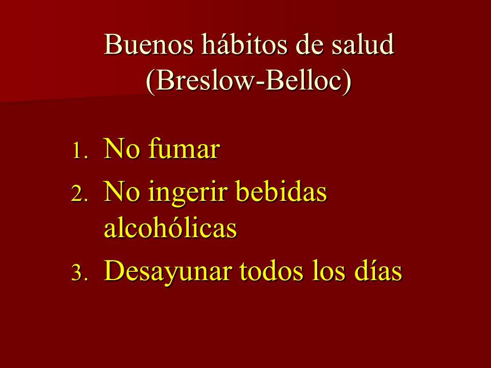 Buenos hábitos de salud (Breslow-Belloc)