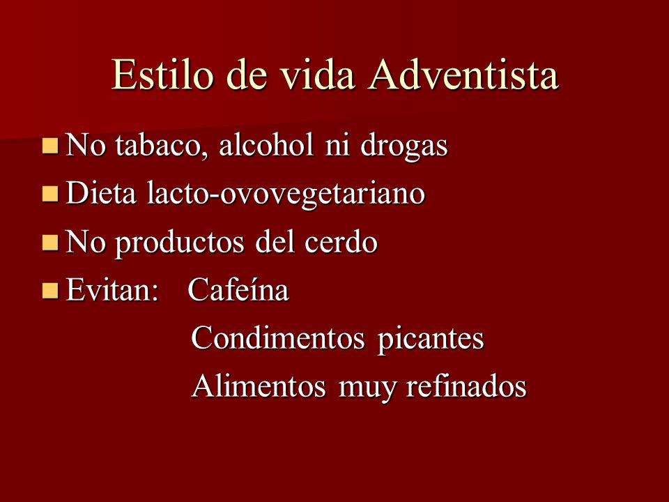 Estilo de vida Adventista