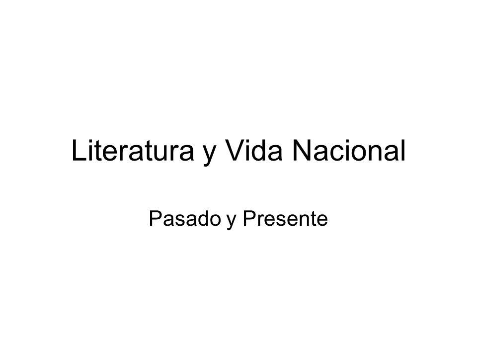 Literatura y Vida Nacional