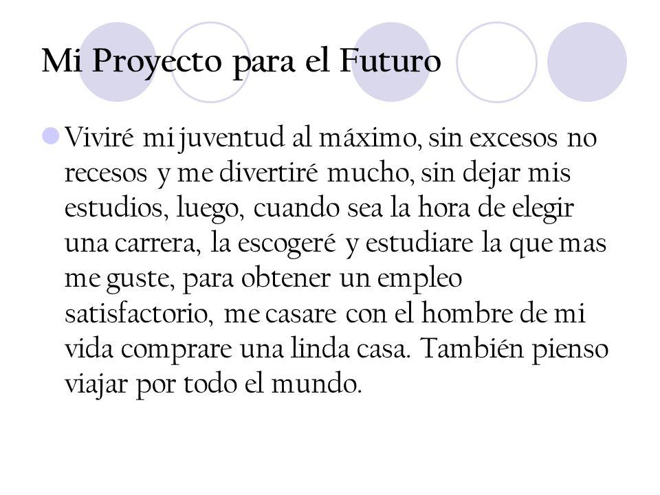 Mi Proyecto para el Futuro