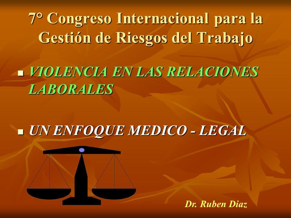 7° Congreso Internacional para la Gestión de Riesgos del Trabajo