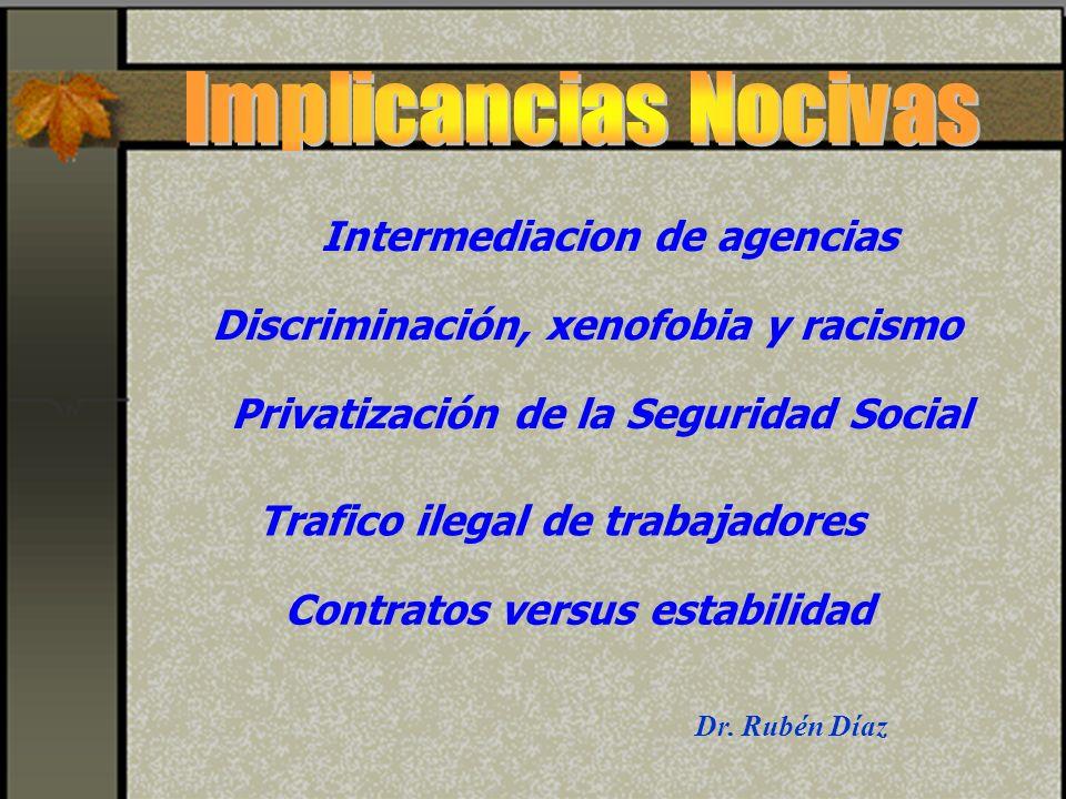 Intermediacion de agencias