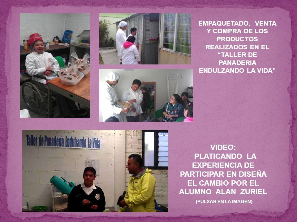 EMPAQUETADO, VENTA Y COMPRA DE LOS PRODUCTOS REALIZADOS EN EL TALLER DE PANADERIA ENDULZANDO LA VIDA