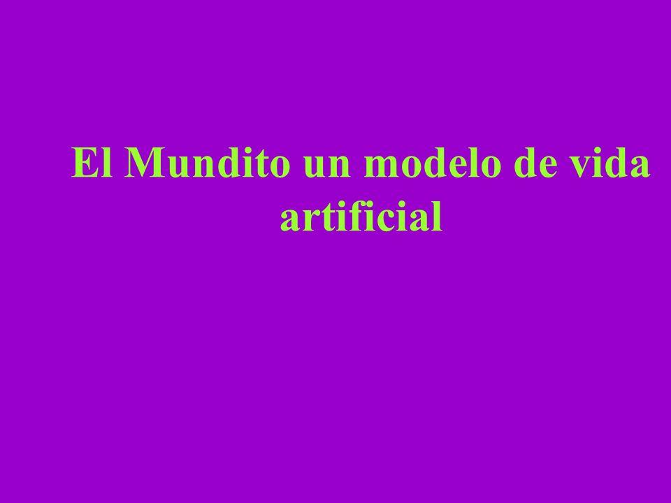 El Mundito un modelo de vida artificial