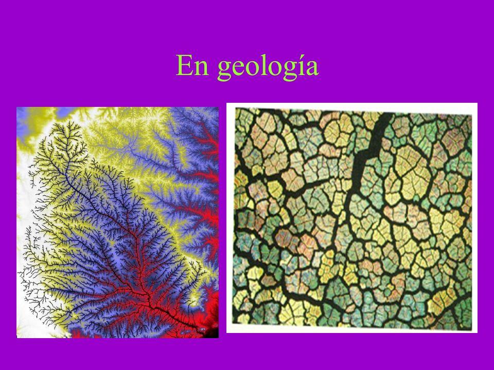 En geología