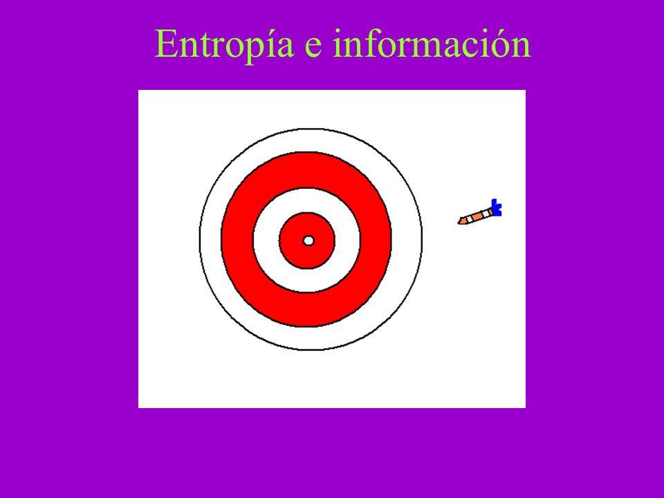 Entropía e información