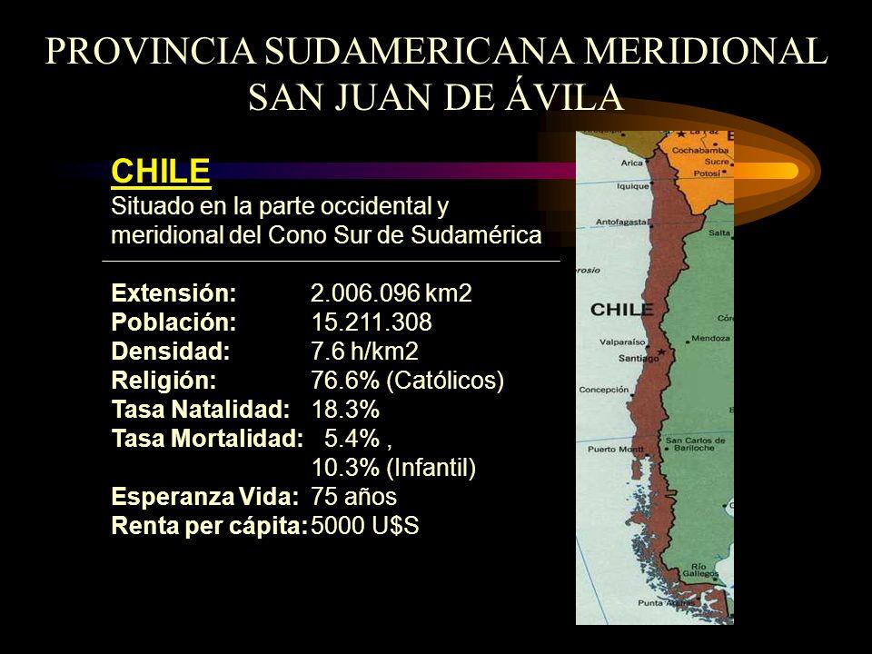 PROVINCIA SUDAMERICANA MERIDIONAL SAN JUAN DE ÁVILA