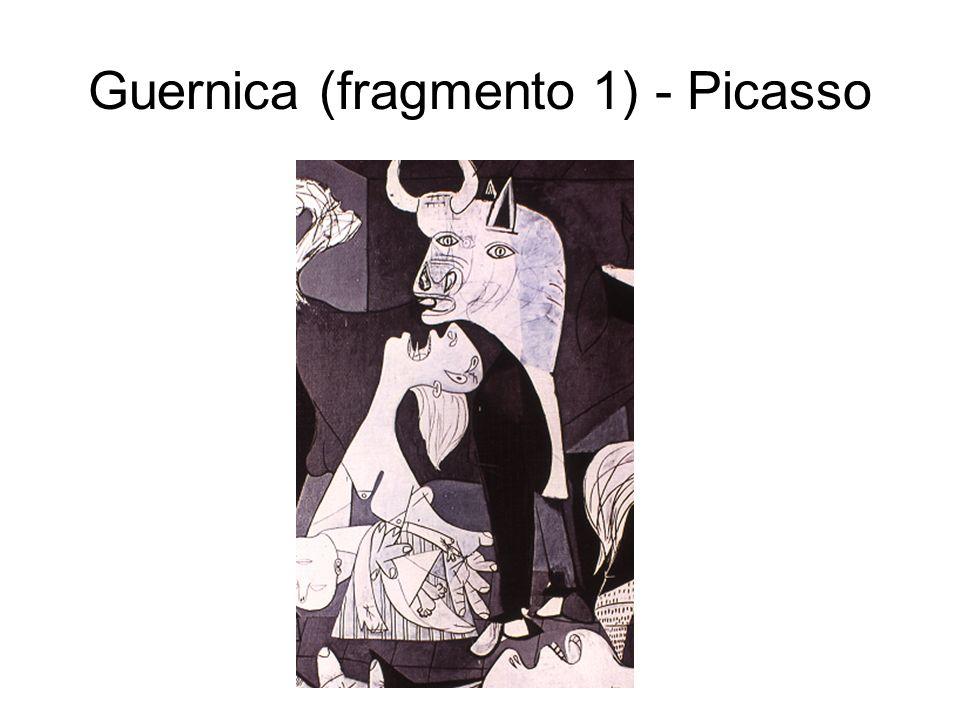 Guernica (fragmento 1) - Picasso