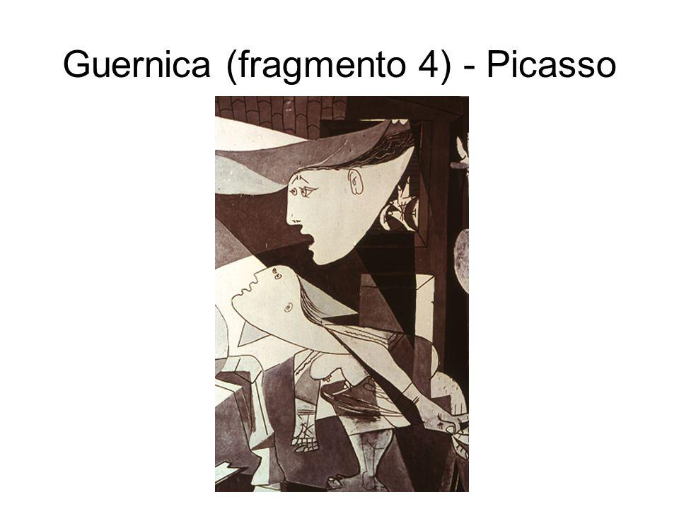 Guernica (fragmento 4) - Picasso