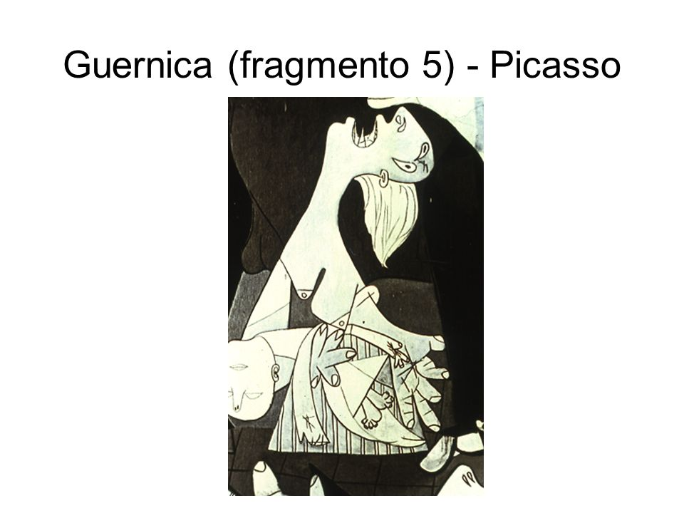 Guernica (fragmento 5) - Picasso
