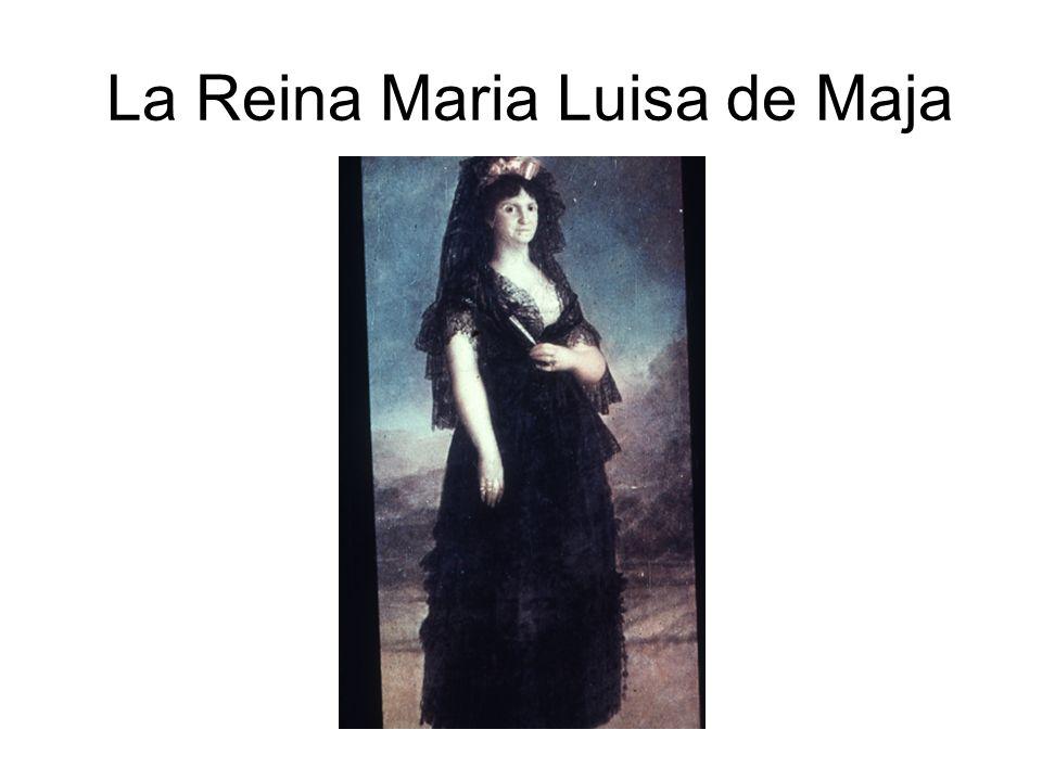 La Reina Maria Luisa de Maja