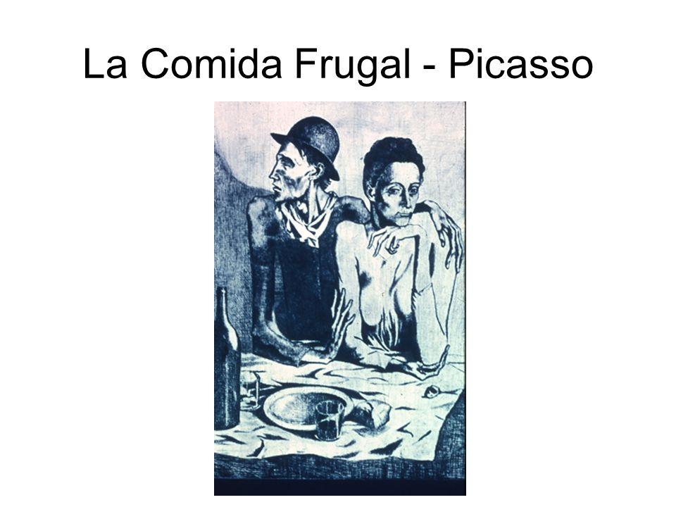 La Comida Frugal - Picasso