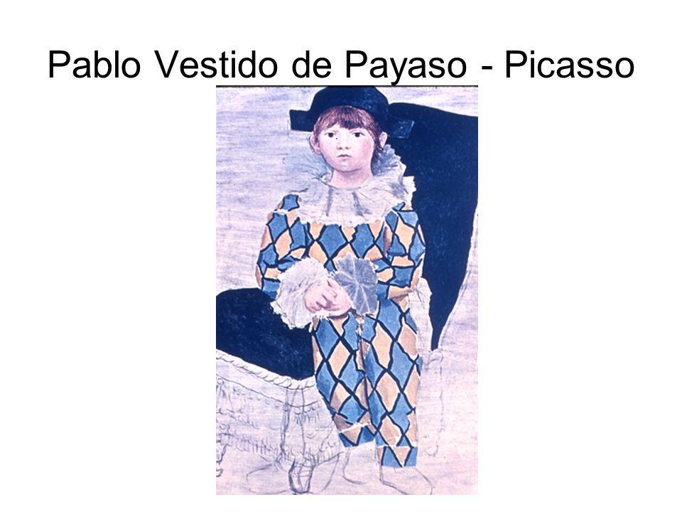 Pablo Vestido de Payaso - Picasso