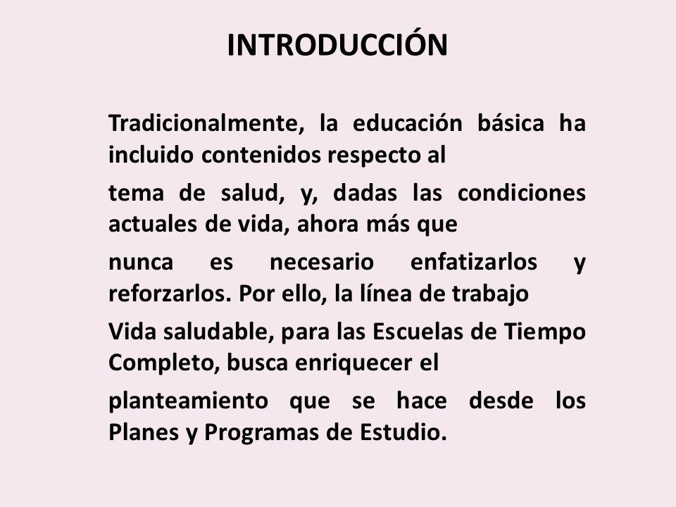 INTRODUCCIÓN Tradicionalmente, la educación básica ha incluido contenidos respecto al.