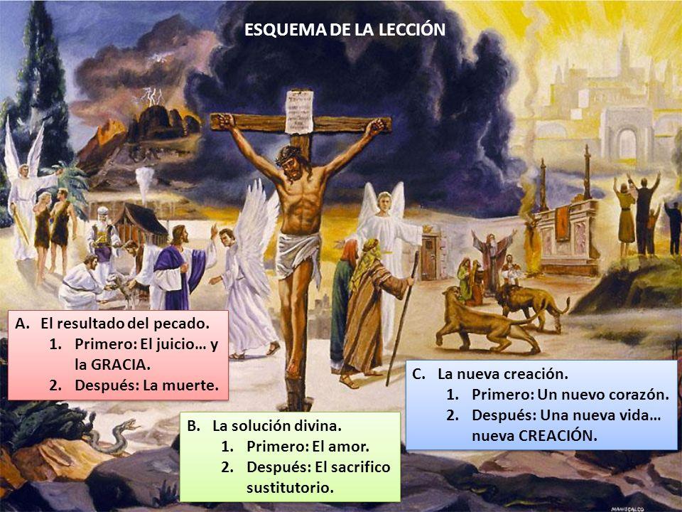 ESQUEMA DE LA LECCIÓN El resultado del pecado.