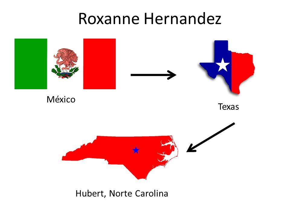 Roxanne Hernandez México Texas Hubert, Norte Carolina