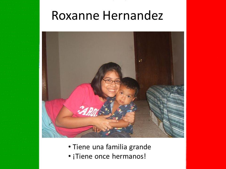 Roxanne Hernandez Tiene una familia grande ¡Tiene once hermanos!
