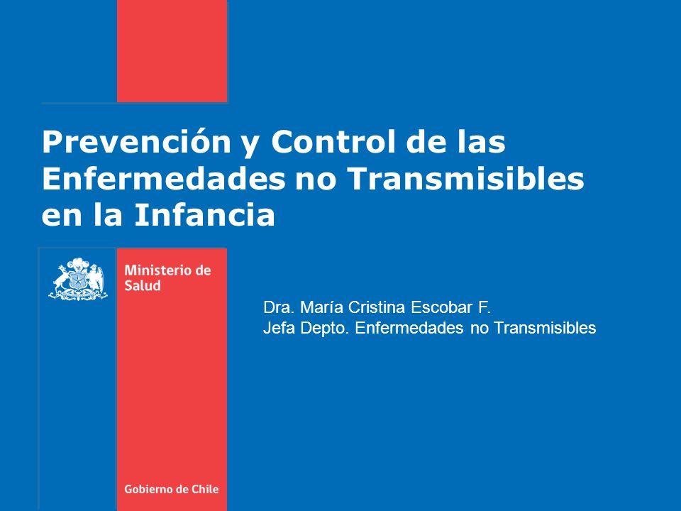 Prevención y Control de las Enfermedades no Transmisibles en la Infancia