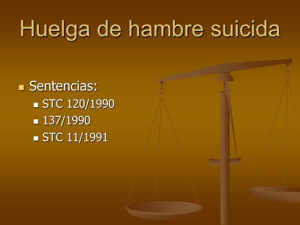 Huelga de hambre suicida