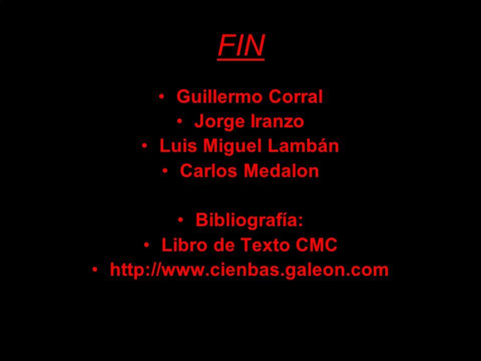 FIN Guillermo Corral Jorge Iranzo Luis Miguel Lambán Carlos Medalon