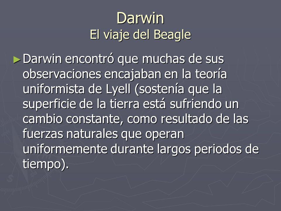 Darwin El viaje del Beagle