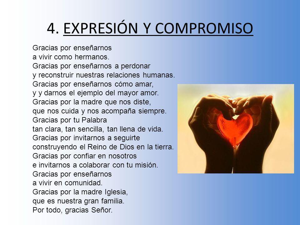 4. EXPRESIÓN Y COMPROMISO