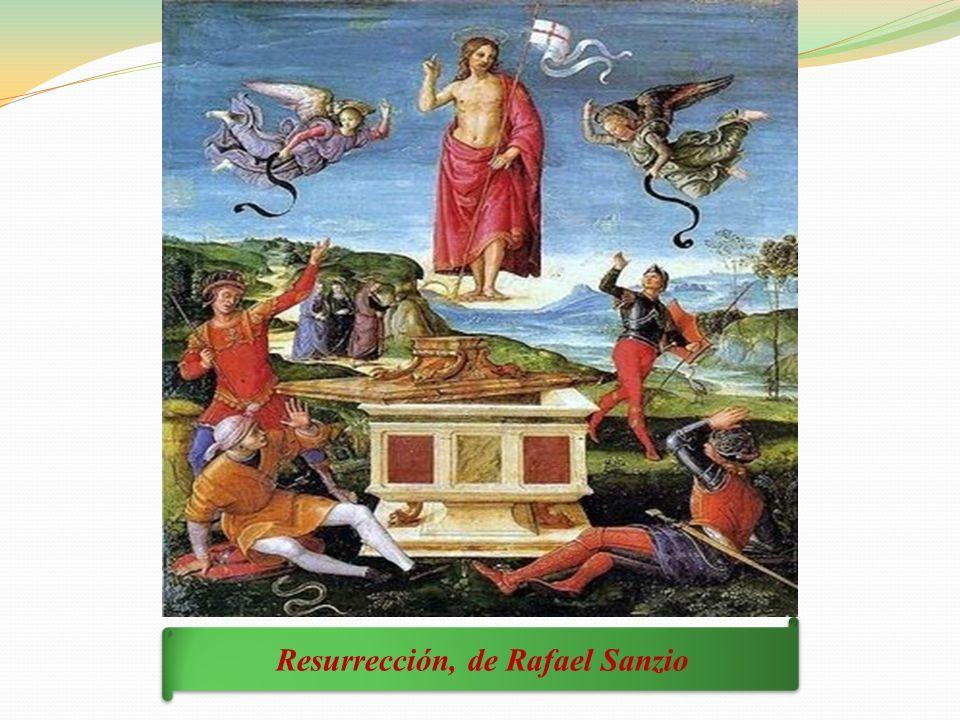 Resurrección, de Rafael Sanzio