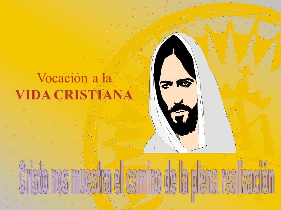 Cristo nos muestra el camino de la plena realización