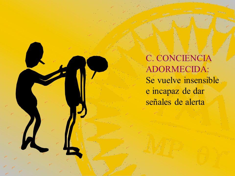 C. CONCIENCIA ADORMECIDA: