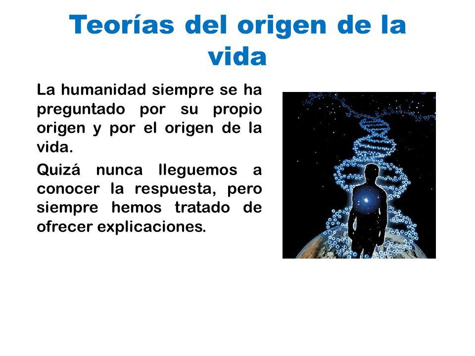 Teorías del origen de la vida