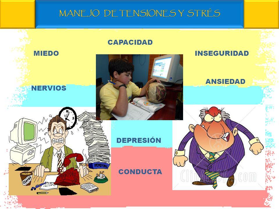 MANEJO DE TENSIONES Y STRÉS