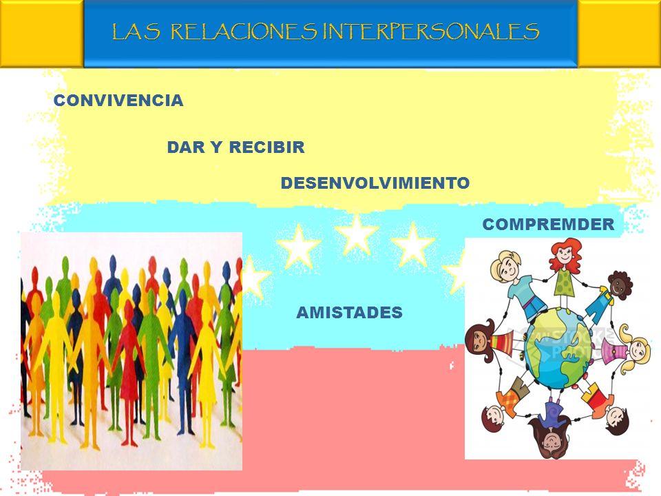 LA S RELACIONES INTERPERSONALES
