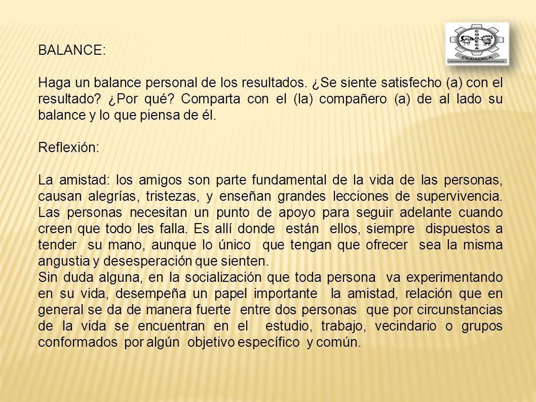 BALANCE: