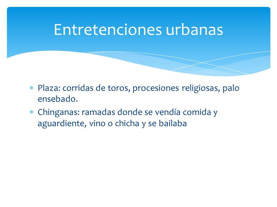 Entretenciones urbanas