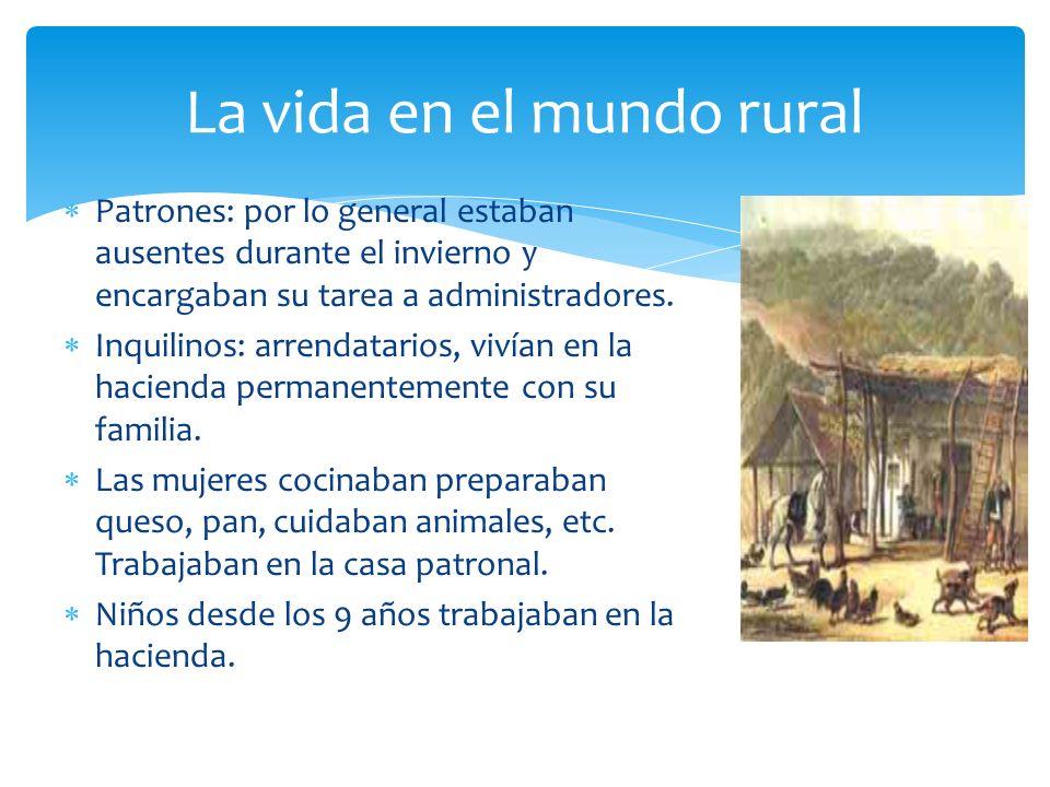 La vida en el mundo rural
