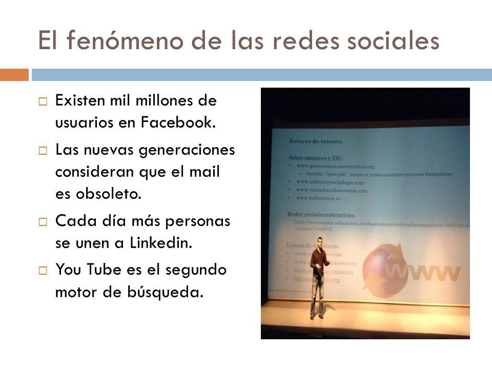 El fenómeno de las redes sociales