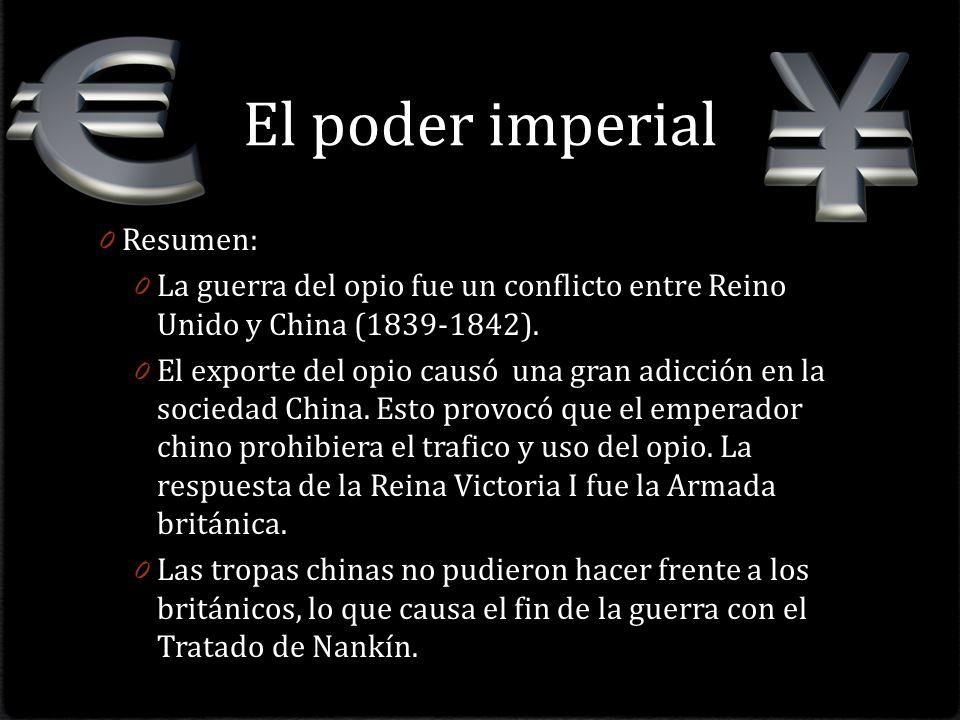 El poder imperial Resumen: