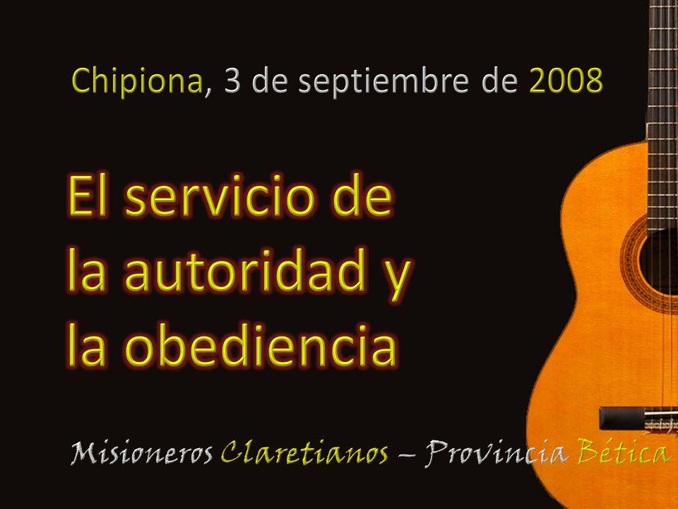 El servicio de la autoridad y la obediencia