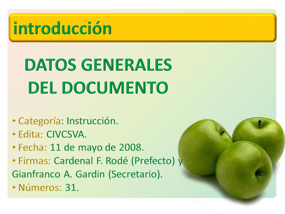 DATOS GENERALES DEL DOCUMENTO