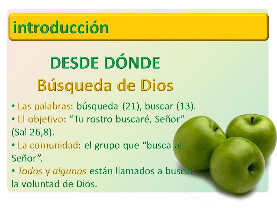 DESDE DÓNDE Búsqueda de Dios