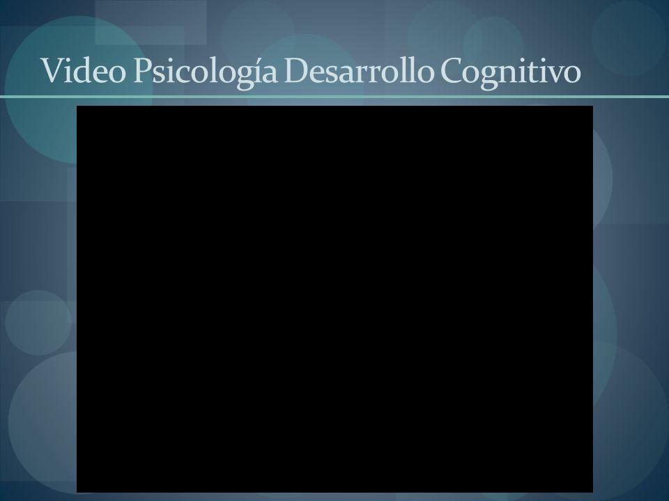 Video Psicología Desarrollo Cognitivo