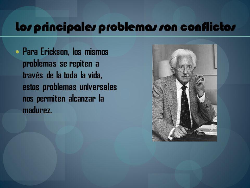 Los principales problemas son conflictos