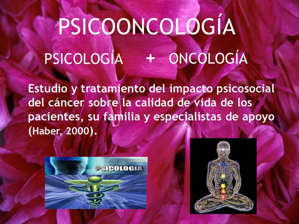 PSICOONCOLOGÍA + PSICOLOGÍA ONCOLOGÍA